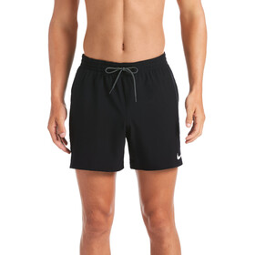 "Nike Swim Logo Tape Racer 5"" Volley Shorts Heren, black"